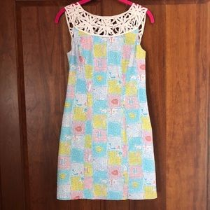 LILLY PULITZER Lacina Dress, Written in the Stars